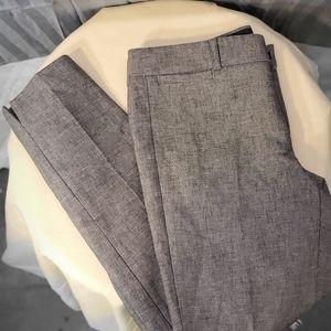 Banana Republic gray Sloan fit pants size 4